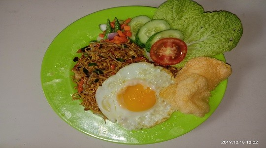 Menu & Review Nasi Goreng 788 - Semper Barat