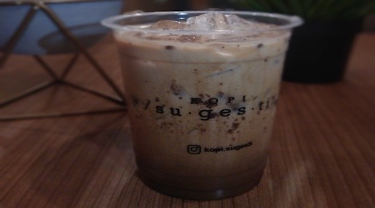 Menu & Review Kopi Sugesti - Cipete