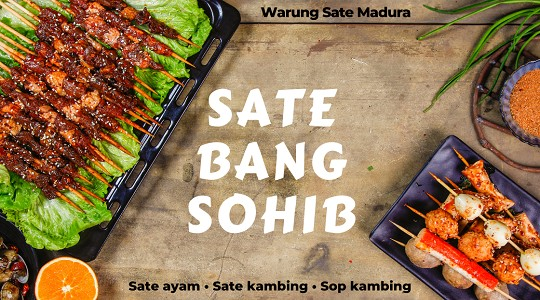 Menu & Review Sate Bang Sohib - Pondok Benda - Ciputat