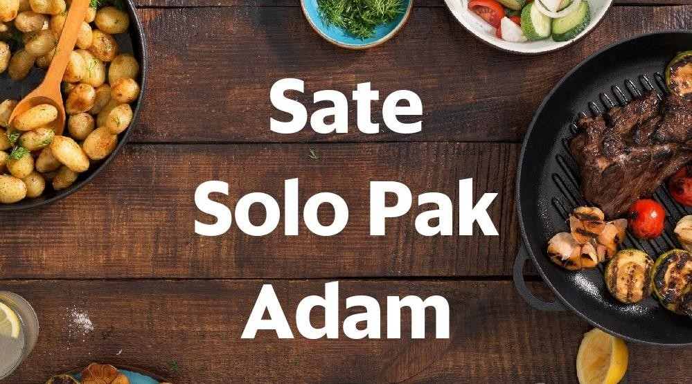 Menu & Review Sate Solo Pak Adam - Hj Nawar