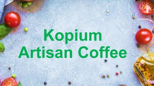 Menu & Review Kopium Artisan Coffee - Kelapa Gading