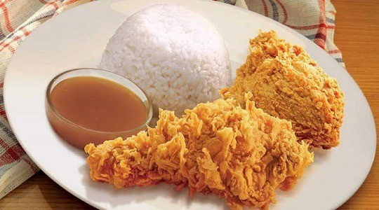 Menu & Review Arilla Fried Chicken - Gunung Sahari