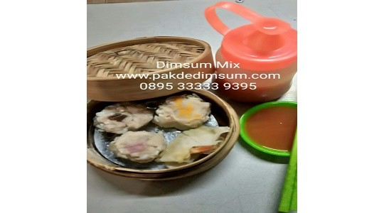 Menu & Review Pakde Dimsum - Taman Kuliner Billy Moon