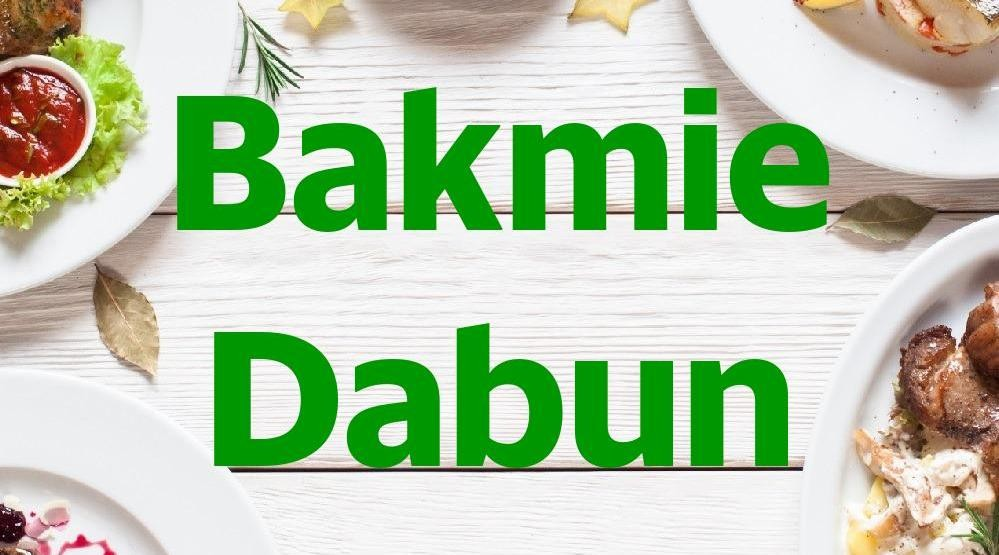 Menu & Review Bakmie Dabun - Sunter