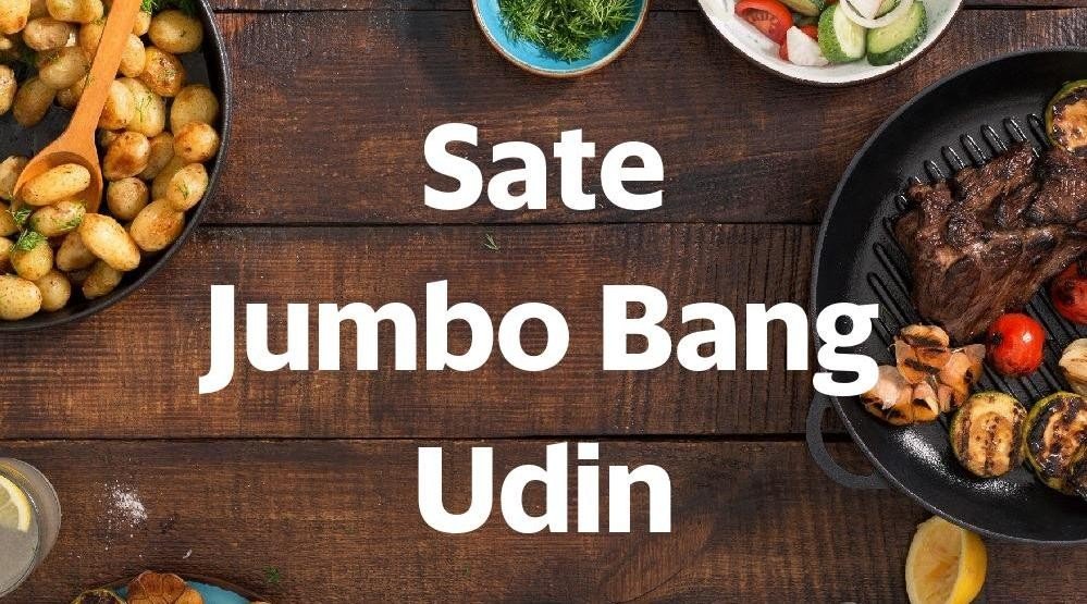 Menu & Review Sate Jumbo Bang Udin - Tanah Abang