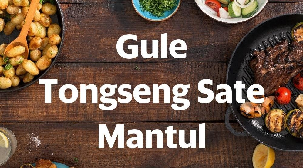 Menu & Review Gule Tongseng Sate Mantul - Pondok Bambu
