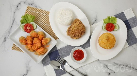 Menu & Review Hisana Fried Chicken - Kemayoran
