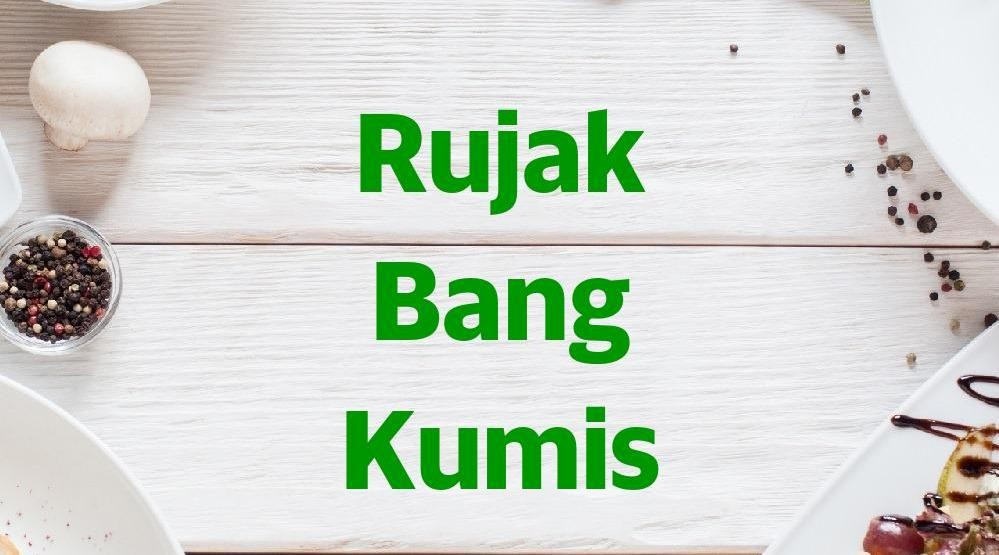 Menu & Review Rujak Bang Kumis - Jombang - Ciputat
