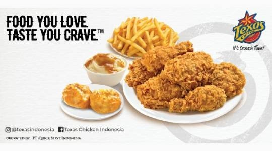 Menu & Review New Texas Chicken - Green Pramuka Square - JKT.C-CEMPAKA PUTIH