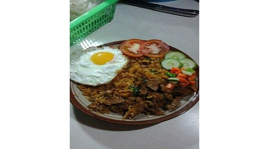 Menu & Review Nasi Goreng 73 - Bambu Apus