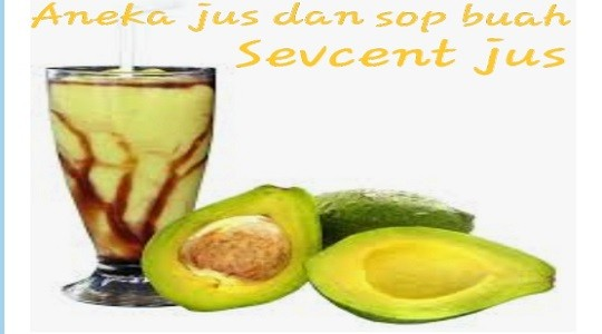Menu & Review Sevcent Jus - Harapan Mulya