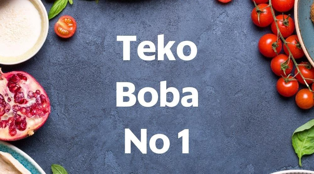 Menu & Review Teko Boba No 1 - Utan Kayu Selatan