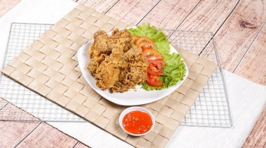 Menu & Review Sabana Fried Chicken - Kalisari