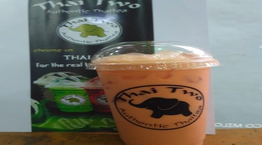 Menu & Review Thai Two Authentic Thai Tea - Cipinang