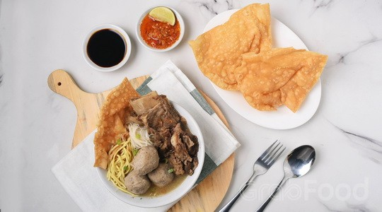 Menu & Review Bakso Solo Samrat - Mall Of Indonesia