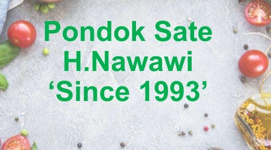 Menu & Review Pondok Sate H.Nawawi 'Since 1993' - Indomaret Fresh - Cengkareng
