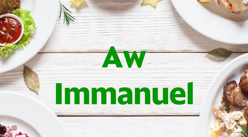 Menu & Review Aw Immanuel - Mall Of Indonesia