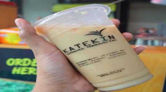 Menu & Review Katekin Thai Tea - Kukusan - DPK - BEJI