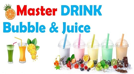 Menu & Review Master Drink 'Bubble & Juice' - Jatirahayu - Bekasi I