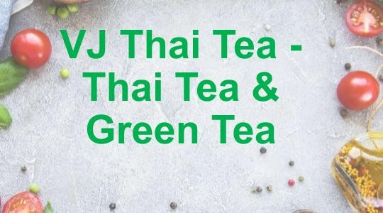 Menu & Review VJ Thai Tea - Thai Tea & Green Tea - Bojong Kulur - Bogor 4 (Puncak Area)