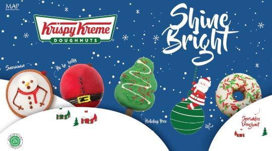 Menu & Review Krispy Kreme - Djakarta Theater