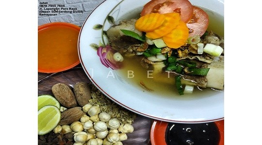 Menu & Review Jabet Sop - Serdang
