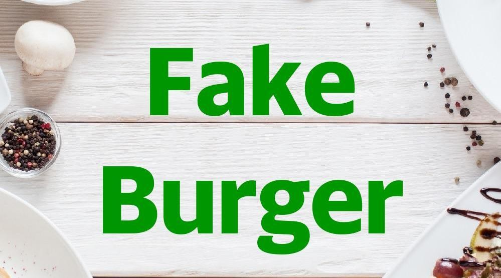 Menu & Review Fake Burger - Cipayung