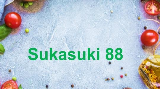Menu & Review Sukasuki 88 - Pondok Benda - Ciputat