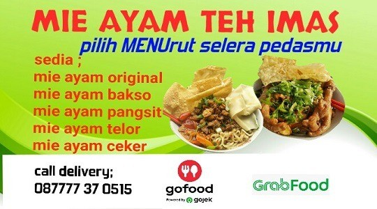 Menu & Review Mie Ayam Teh Imas - Susukan