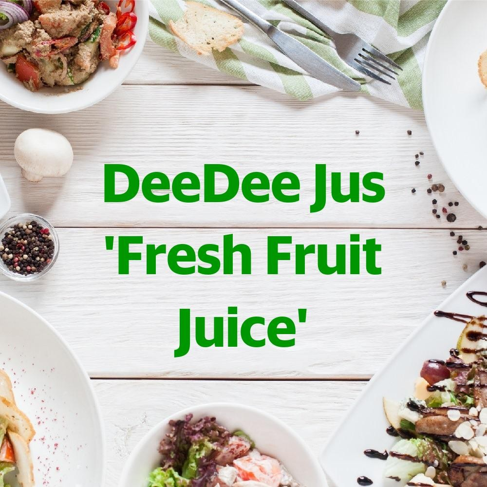 Menu & Review DeeDee Jus 'Fresh Fruit Juice' - Nagrak - Bekasi I