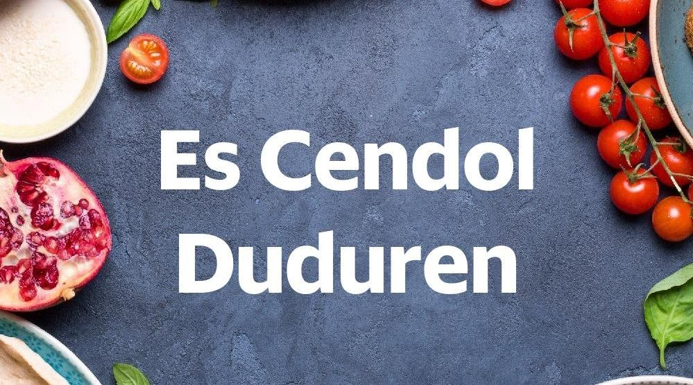 Menu & Review Es Cendol Duduren - Bambu Apus