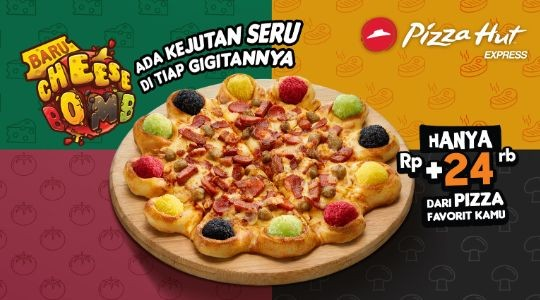 Menu & Review Pizza Hut Express - Bandara Halim Perdanakusuma