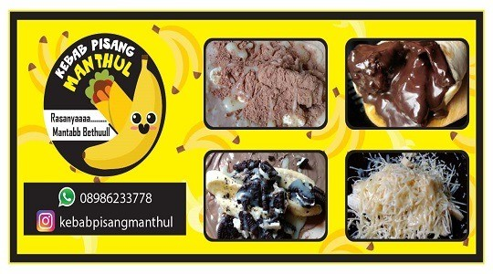 Menu & Review Kebab Pisang Manthul - Sumur Batu