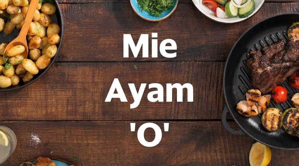 Menu & Review Mie Ayam 'O' - Cikini