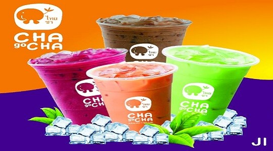 Menu & Review Cha Go Cha Thai Tea - Klender