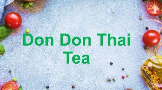 Menu & Review Don Don Thai Tea - Penjaringan