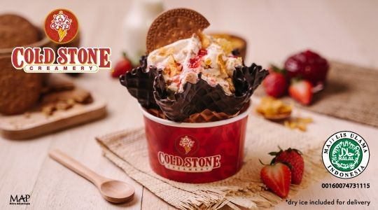 Menu & Review Cold Stone Creamery - Aeon JGC