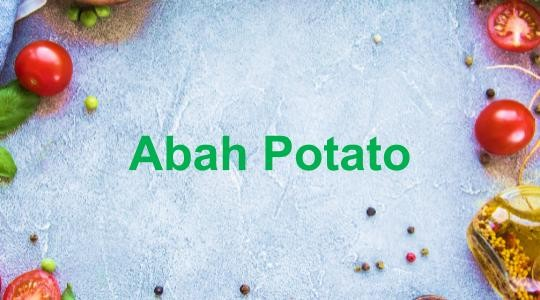 Menu & Review Abah Potato - Lagoa