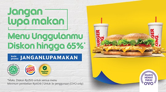 Menu & Review Burger King - Duren Sawit