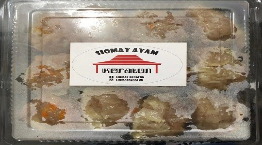 Menu & Review Siomay Keraton - Pondok Labu