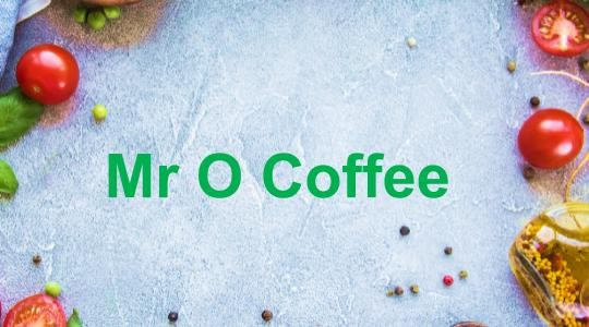 Menu & Review Mr O Coffee - Rawamangun