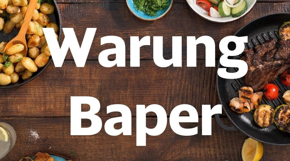 Menu & Review Warung Baper - Lubang Buaya