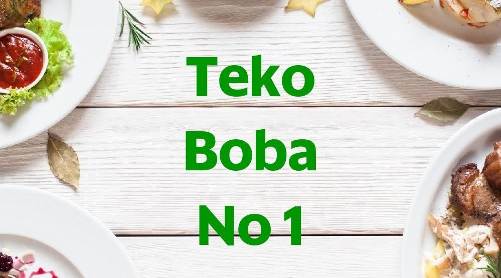 Menu & Review Teko Boba No 1 - Utan Kayu Utara