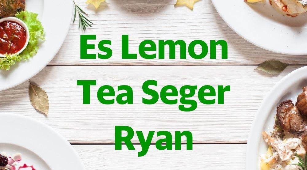 Menu & Review Ice Lemon Tea Segerrr - Srengseng Sawah