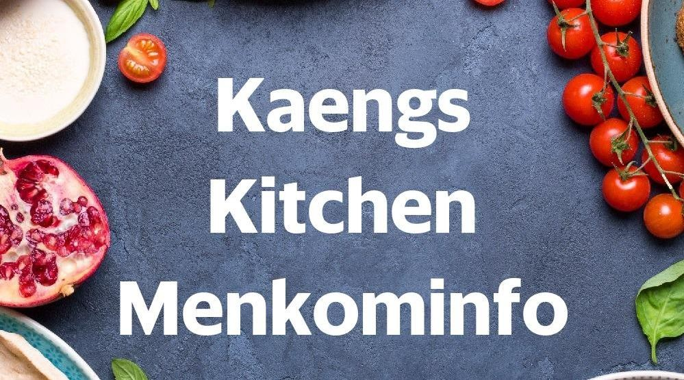 Menu & Review Kaengs Kitchen Menkominfo - Gambir - Gambir