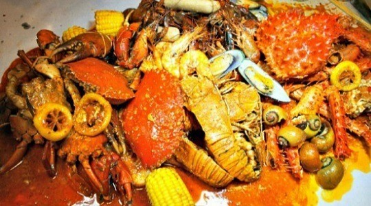 Menu & Review Kepiting Tumpah Daeng Mustar - Lagoa