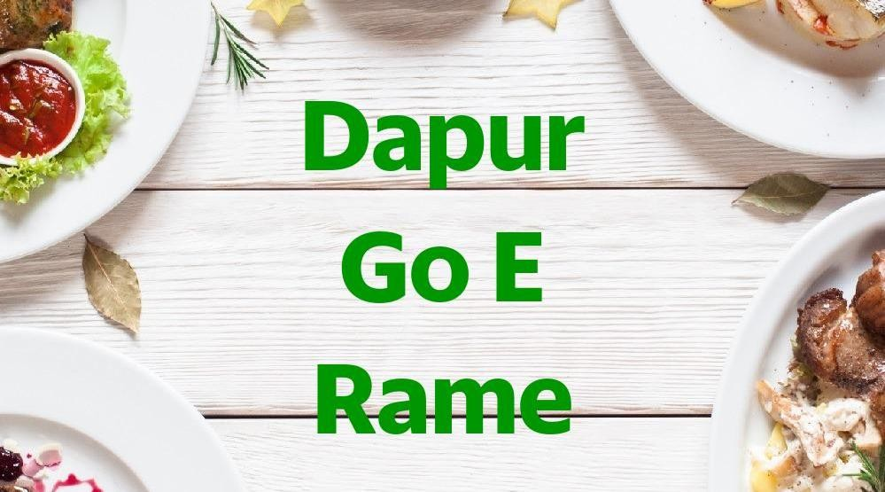 Menu & Review Dapur Go E Rame - Pademangan Barat