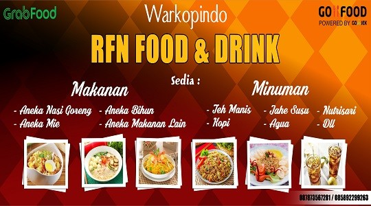Menu & Review Warkopindo Rfn Food And Drink - Cipinang Muara - Jatinegara