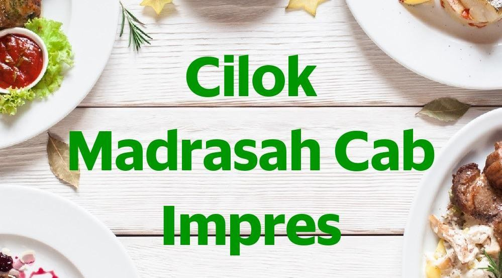 Menu & Review Cilok Madrasah Cab Impres - Gandaria
