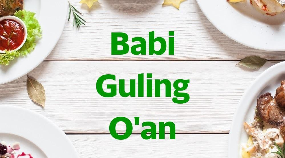 Menu & Review Babi Guling O'an - Kapuk Muara